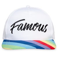 Image of Rainbow Unicorn ''Famous'' Baseball Cap for Adults - Inside Out # 1