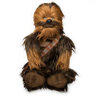 Image of Chewbacca Plush Backpack - Star Wars # 1