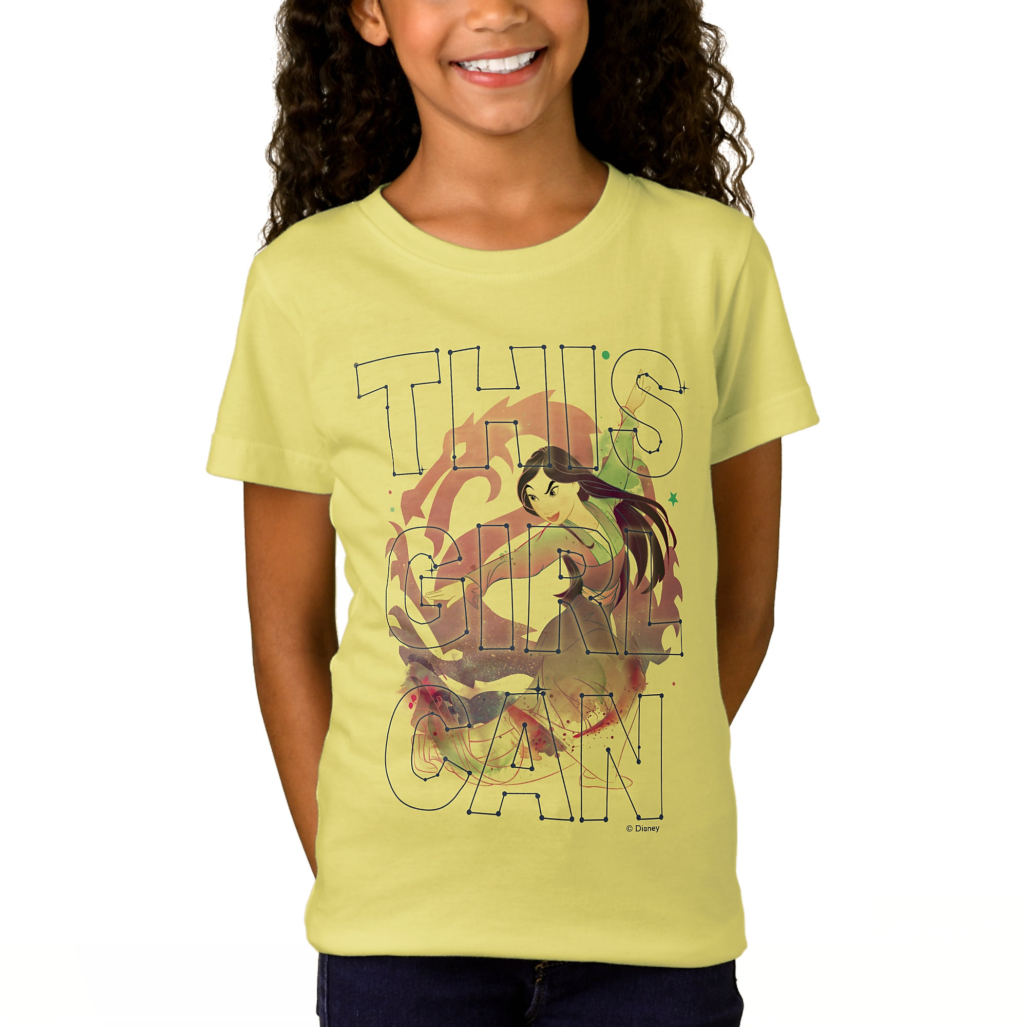 Mulan ''This Girl Can'' T-Shirt for Girls - Customizable