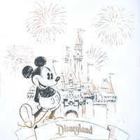 Image of Mickey Mouse Sleeping Beauty Castle Zip Hoodie for Women - Disneyland # 3