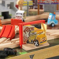 Image of Cars 3 Thunder Hollow Track Set and Table by KidKraft # 6