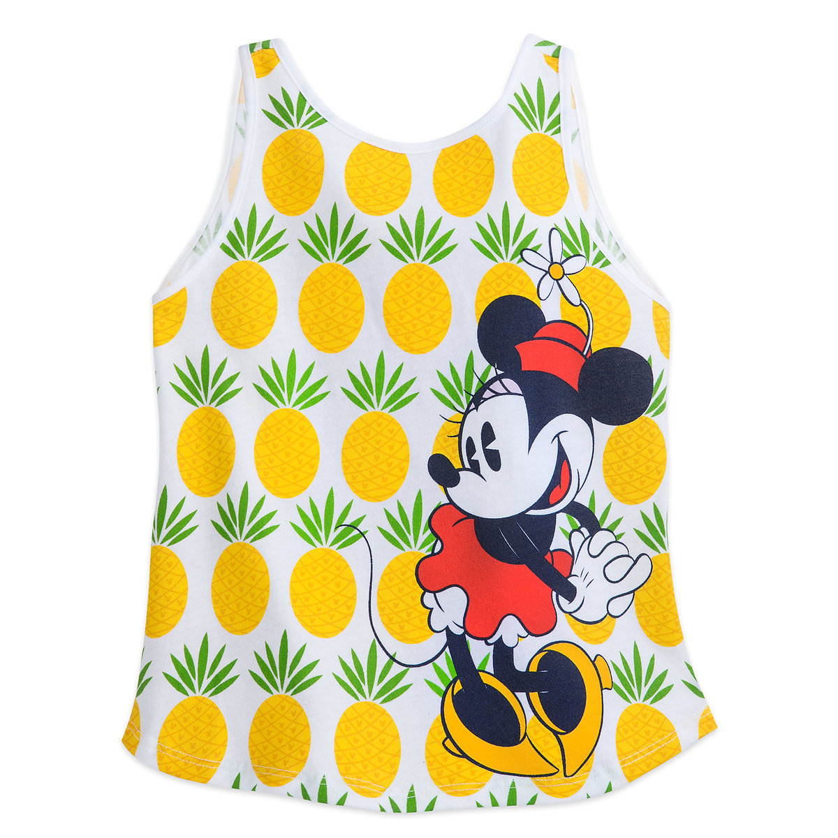 4aba5ab12a9e7 Product Image of Minnie Mouse Pineapple Tank Top for Girls   1