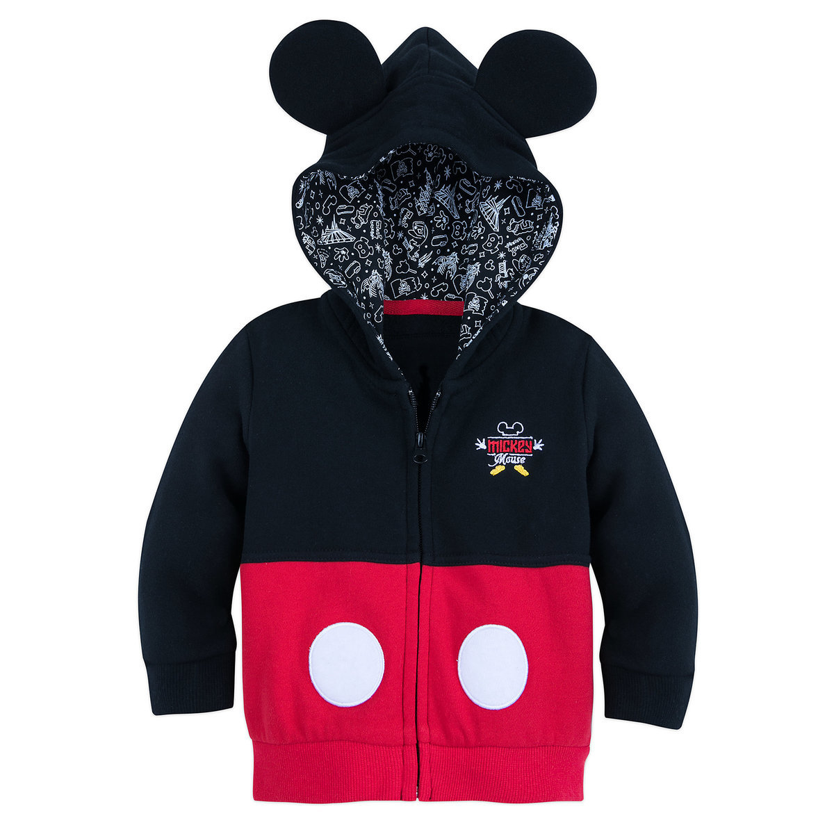 40f952a6d Product Image of I Am Mickey Mouse Zip-Up Hoodie for Baby # 1