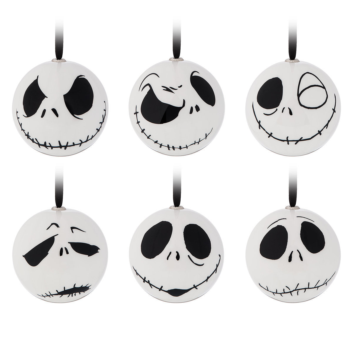 Jack Skellington Holiday Ornaments - The Nightmare Before Christmas ...