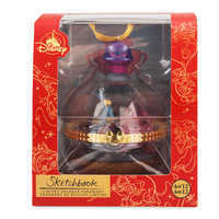 Image of Pain and Panic Disney Duos Sketchbook Ornament - Hercules - April - Limited Release # 4