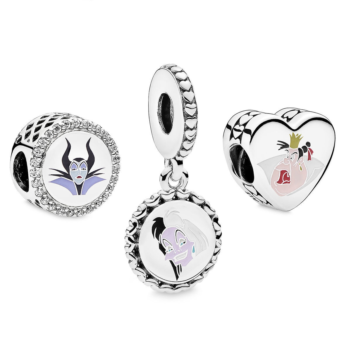 Product Image Of Disney Villains Charm Set By PANDORA 1