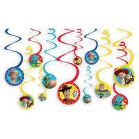 Image of Toy Story 4 Spiral Party Decorations # 1