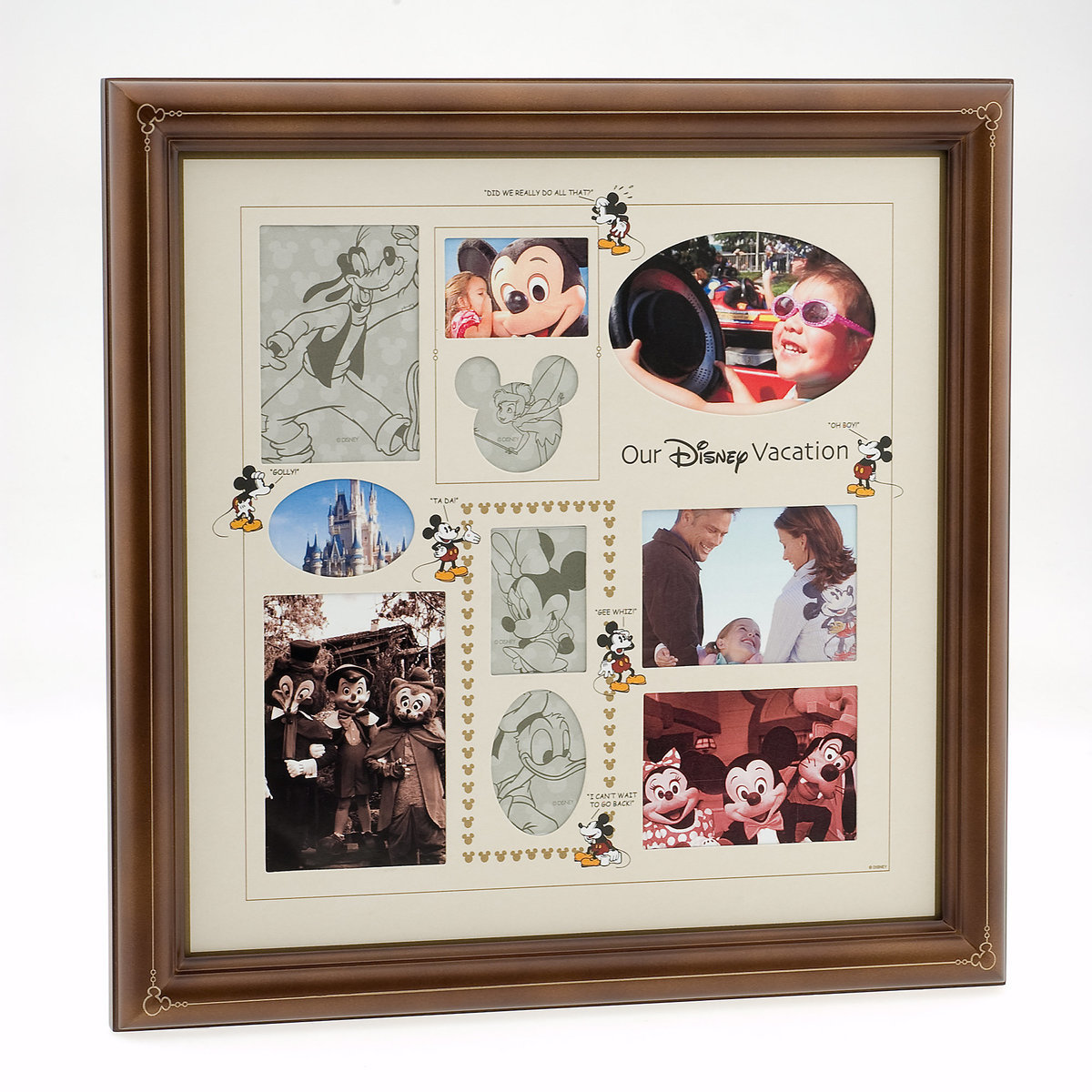 Our disney vacation collage photo frame shopdisney our disney vacation collage photo frame jeuxipadfo Choice Image