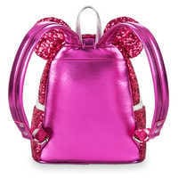 Image of Minnie Mouse Sequin Mini Backpack by Loungefly - Imagination Pink # 3