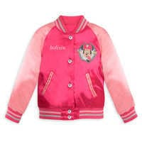 Image of Minnie Mouse Varsity Jacket for Girls - Personalizable # 1