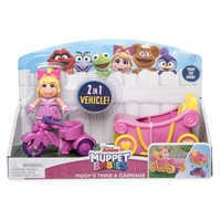 Image of Miss Piggy Trike & Carriage - Muppet Babies # 6