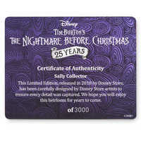 Image of Sally 25th Anniversary Limited Edition Doll - The Nightmare Before Christmas # 4