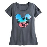 Mickey Mouse Palm Trees T-Shirt - Neff - Women