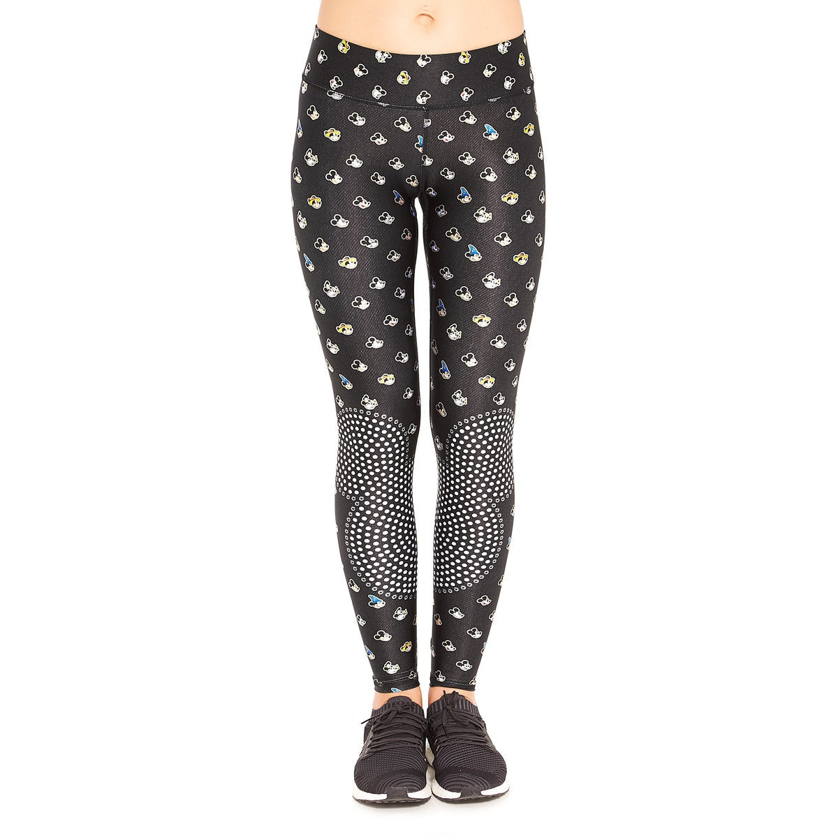 282a4e53f2501c Product Image of Mickey Mouse Many Faces Leggings for Women by Terez # 1