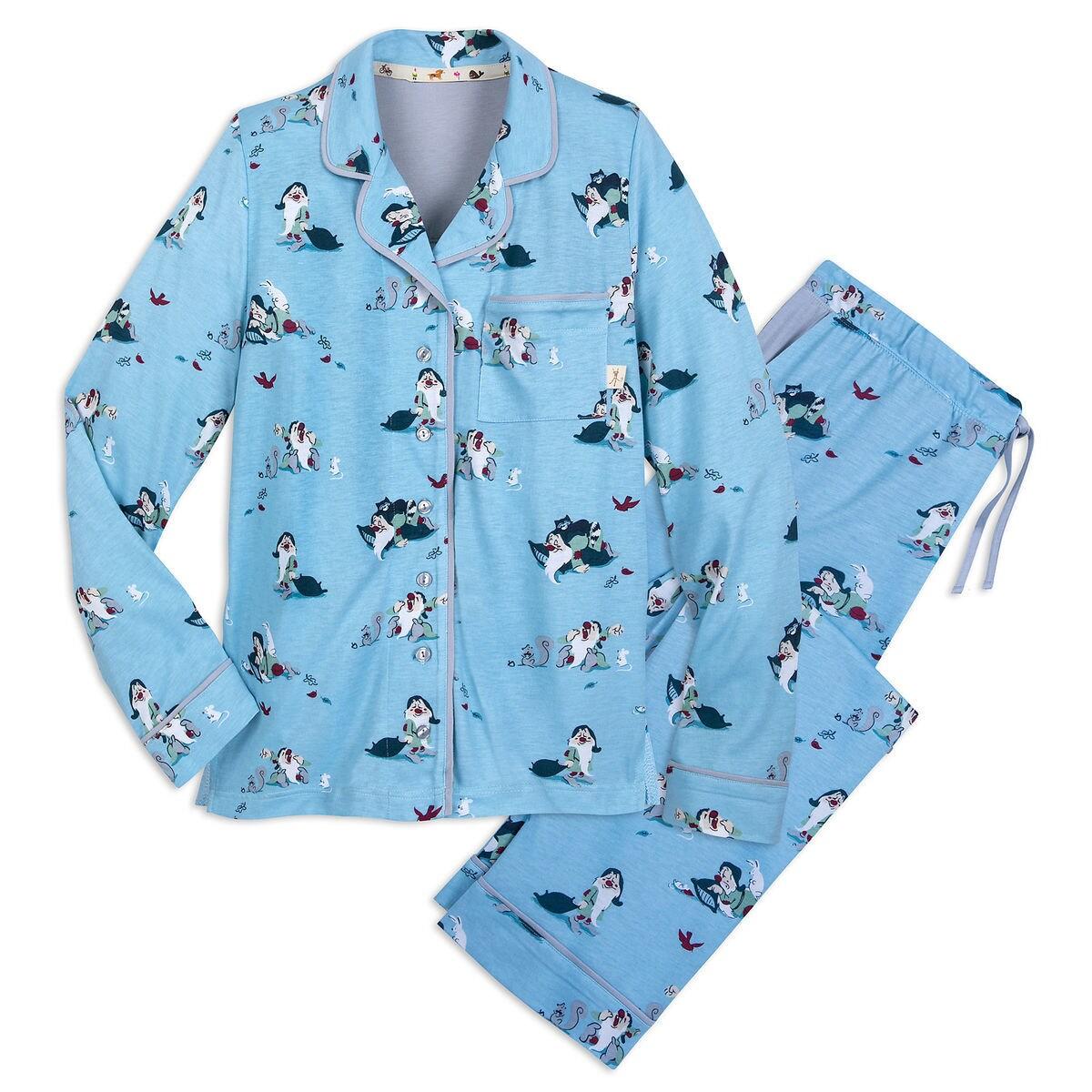 Product Image of Sleepy Pajama Set for Women by Munki Munki   1 e743c3752