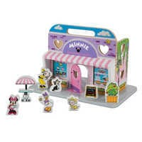 Image of Minnie Mouse Sweetheart Cafe Playset by Melissa & Doug # 1
