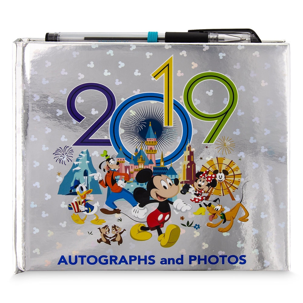 Mickey Mouse and Friends Autograph and Photo Album - Disneyland 2019