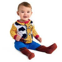 Image of Woody Costume Stretchie for Baby # 2