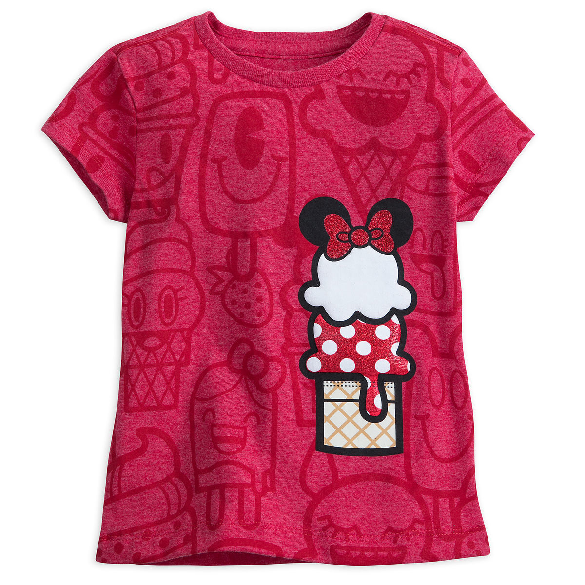 minnie mouse ice cream cone t shirt for girls shopdisney