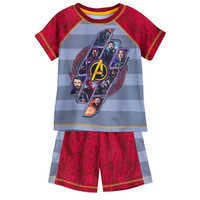 Image of Marvel's Avengers: Infinity War Shorts Sleep Set for Boys # 1