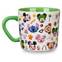 Image of Aulani, A Disney Resort & Spa Emoji Mug # 2