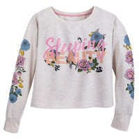 Image of Sleeping Beauty Long Sleeve Sleepwear Shirt for Women # 1