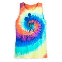 Image of Mickey Mouse Tie-Dye Tank Top for Adults - Walt Disney World # 1