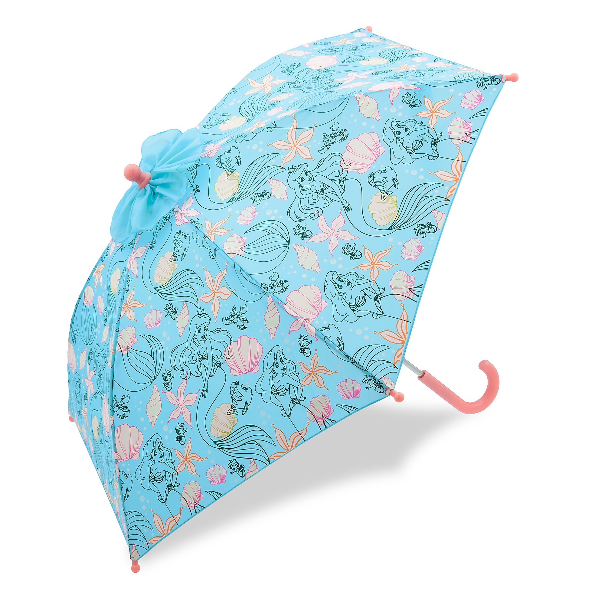 Ariel Color Changing Umbrella for Kids