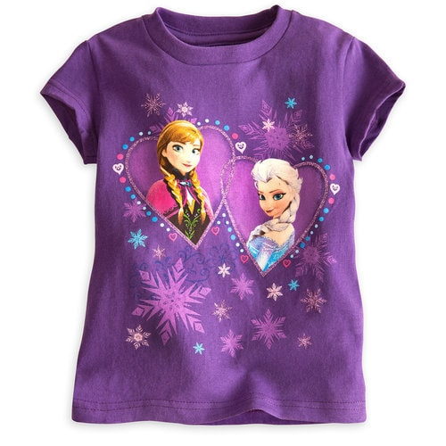 Anna and Elsa Tee for Girls ? Frozen