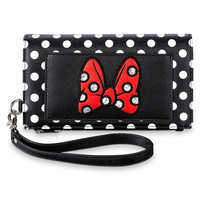 Image of Minnie Mouse Bow Wristlet # 1