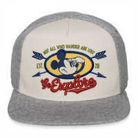 Image of Mickey Mouse ''Go Explore'' Baseball Cap for Kids # 1