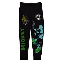 Mickey Mouse Sweatpants for Adults by Opening Ceremony - Black