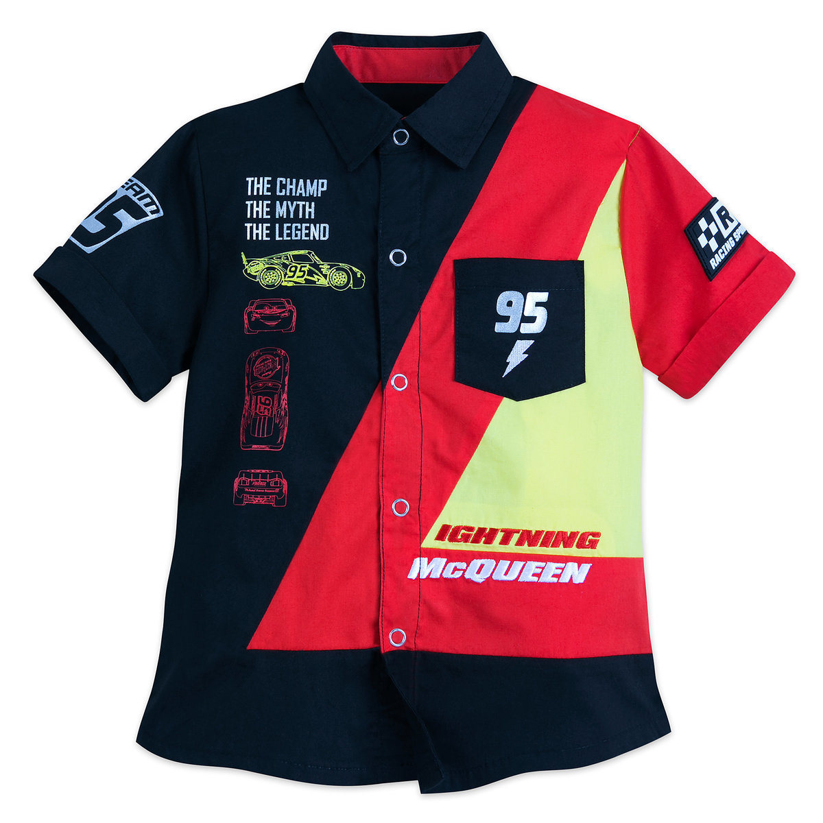 eda59196c8a Product Image of Lightning McQueen Woven Shirt for Boys   1