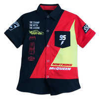 Image of Lightning McQueen Woven Shirt for Boys # 1