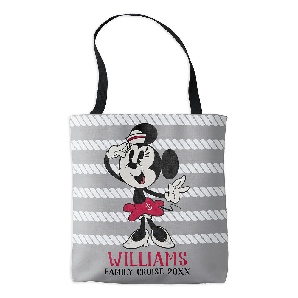 Minnie Mouse Tote Bag - Customizable - Disney Cruise Line