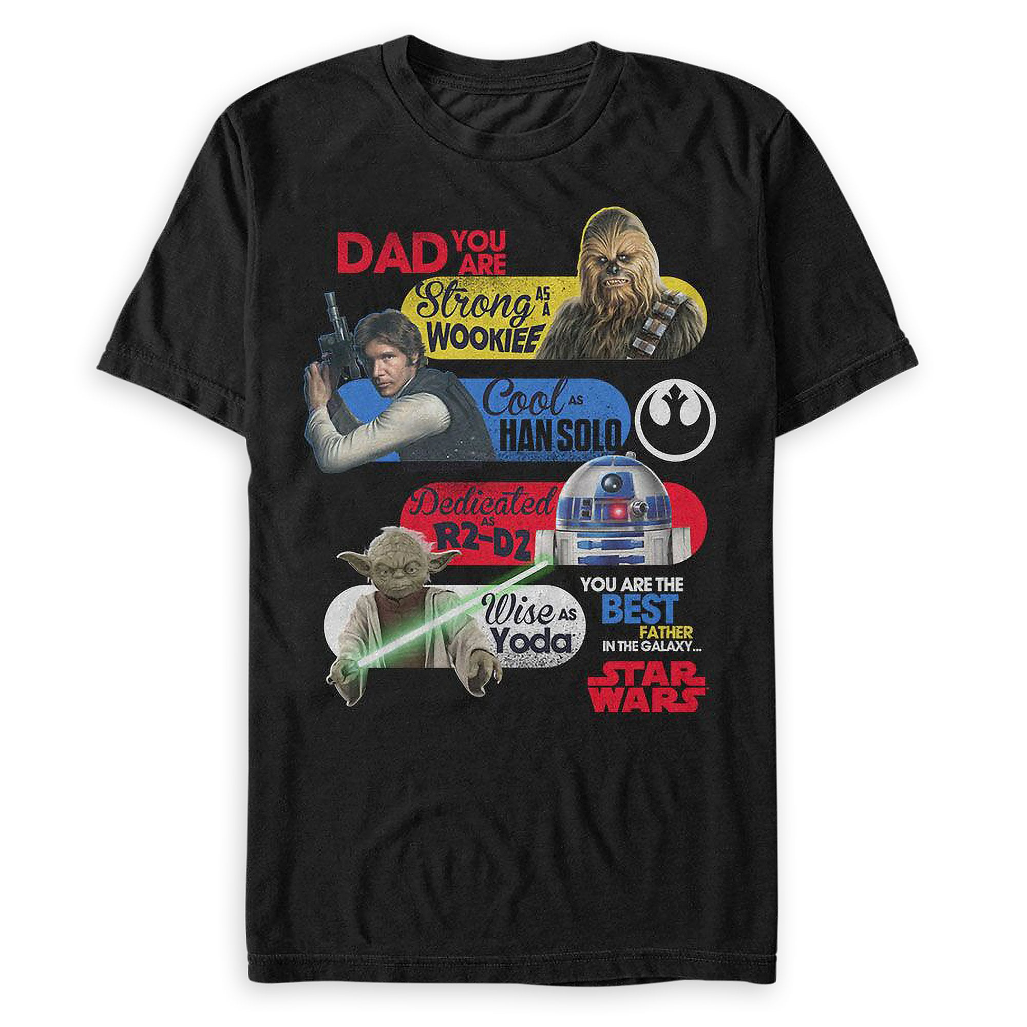 Star Wars ''Best Father in the Galaxy'' T-Shirt for Men