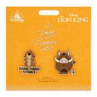 Image of Timon and Pumbaa Pin Set - The Lion King # 2