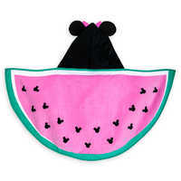 Image of Minnie Mouse Hooded Swim Towel for Baby - Personalized # 2