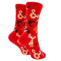 Image of Minnie Mouse Disney Parks Food Icon Cupcake Socks for Kids # 2