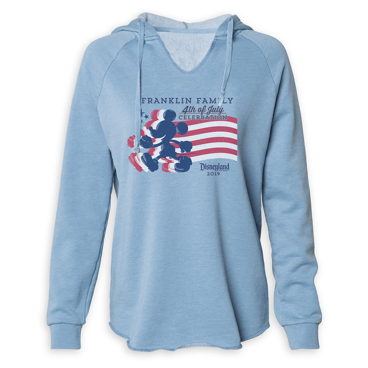 0af9425e0 Product Image of Women's Mickey Mouse Silhouette 4th of July Pullover  Hoodie - Disneyland - Customized