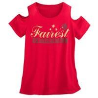 Snow White Fairest of Them All Cold-Shoulder Top - Women - Disney Boutique