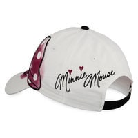 Minnie Mouse Bow Baseball Cap - Adults