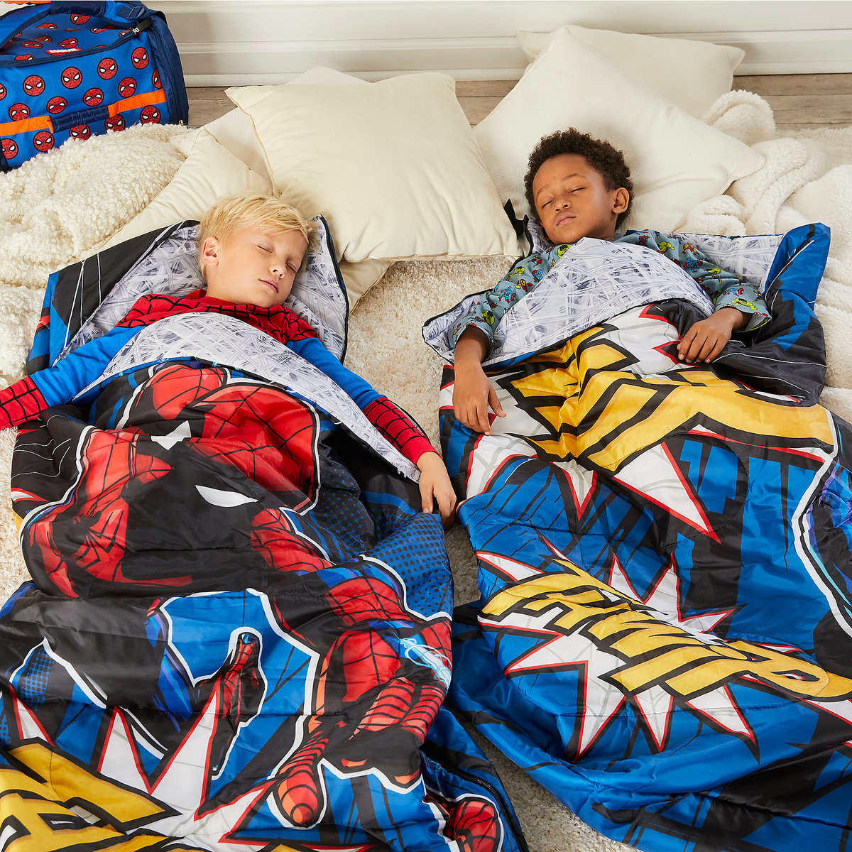 Product Image of Spider-Man Sleeping Bag for Kids # 2