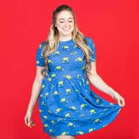 Image of Pizza Planet Dress for Women by Cakeworthy - Toy Story 4 # 5
