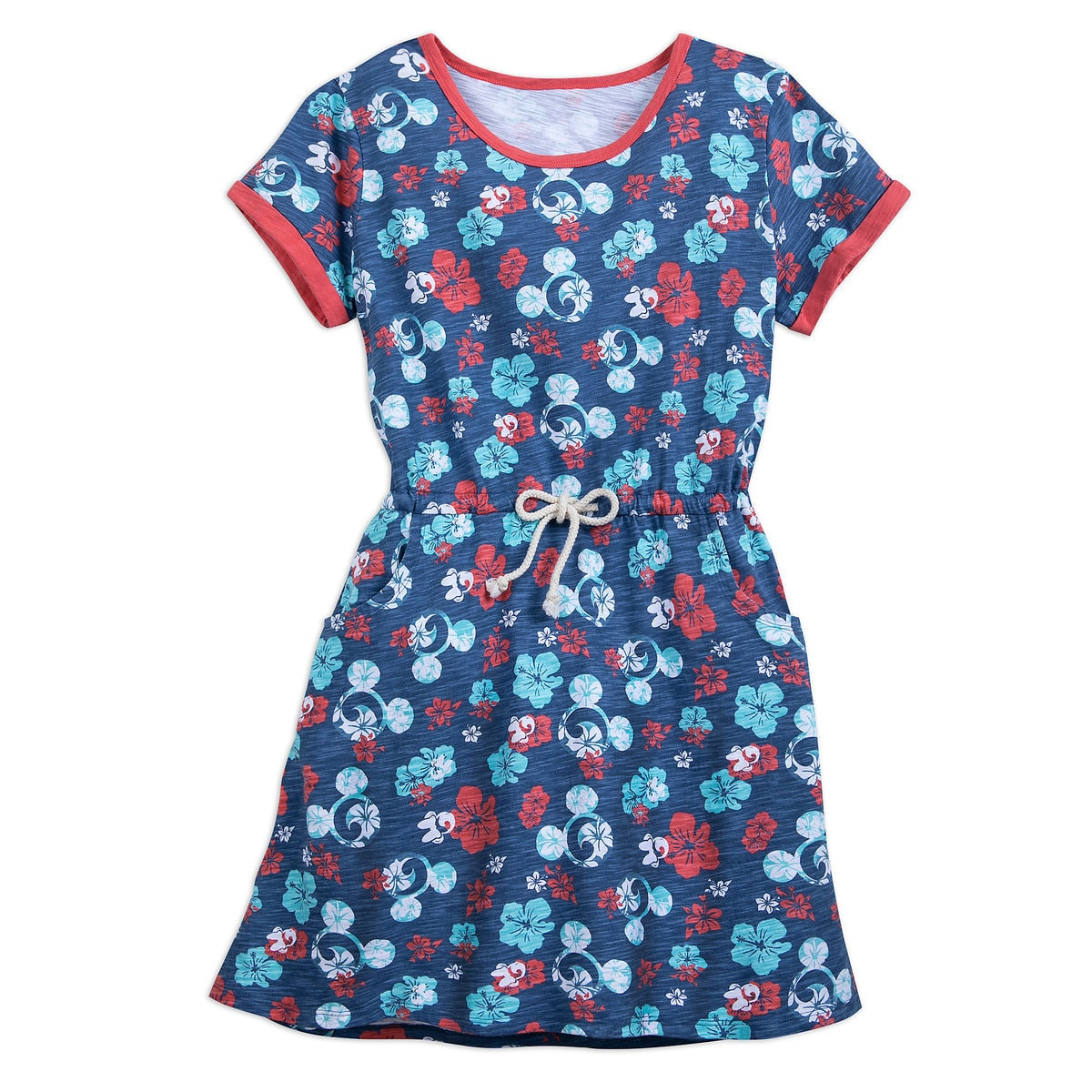 Mickey Mouse Floral Ringer Dress for Women | shopDisney