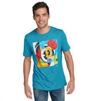 Image of Mickey Mouse Disney Parks Artist Series T-Shirt for Men by Dave Keefer # 2