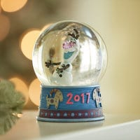 Olaf's Frozen Adventure Snow Globe