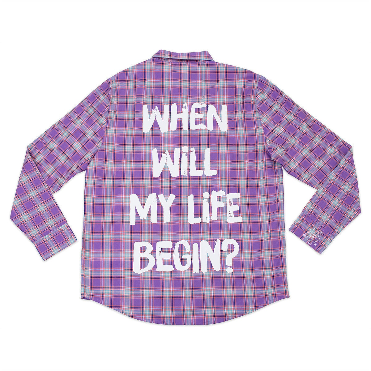 3feb45c1 Product Image of Rapunzel Flannel Shirt for Adults by Cakeworthy # 1
