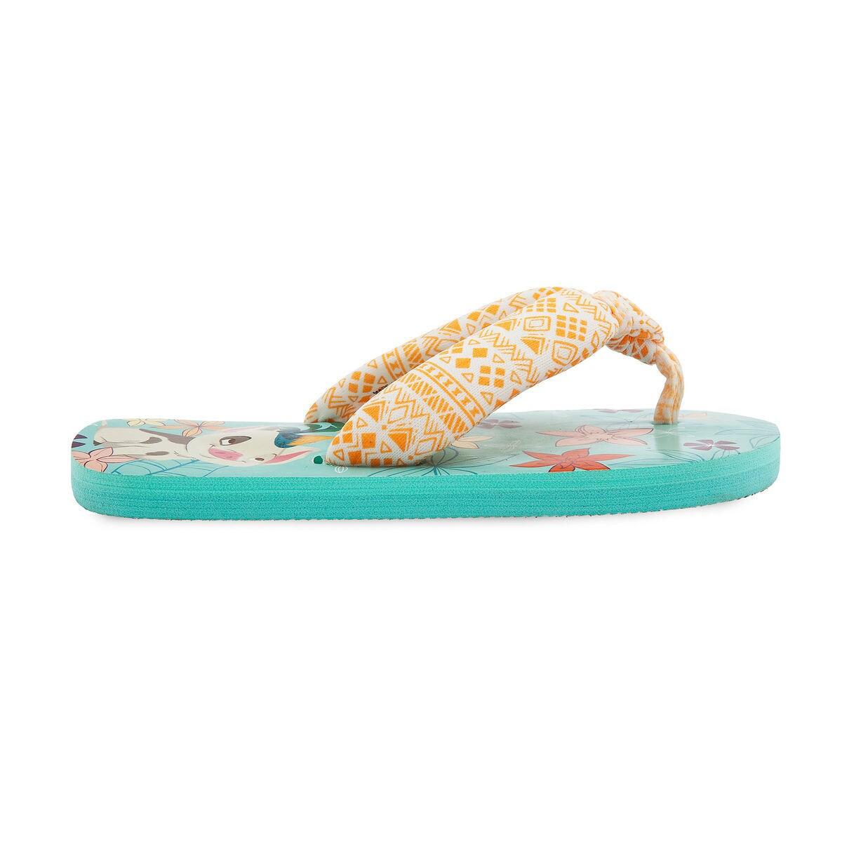 a03c2aa682e493 Moana Flip Flops for Kids