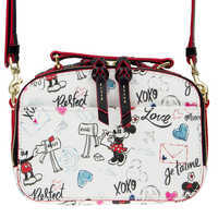 Image of Mickey and Minnie Sweethearts Ambler Crossbody Bag by Dooney & Bourke # 3
